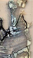 Camgirl - Öl auf Rohkarton