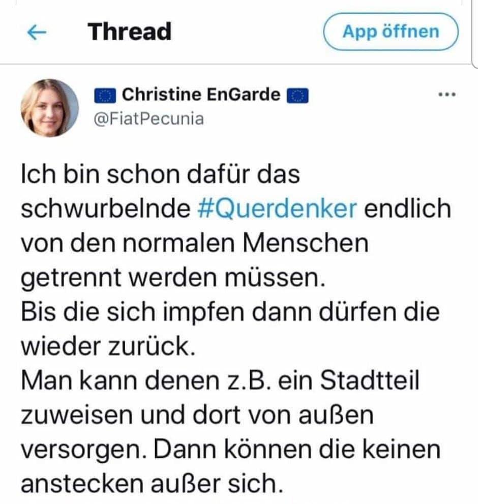Statement von Christine EnGarde
